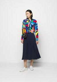 Lauren Ralph Lauren - Button-down blouse - black/multi - 1