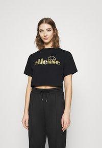 Ellesse - PRESEPE - T-shirts print - black - 0