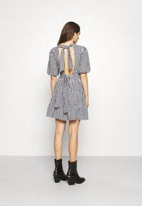 Faithfull the brand - LIZZY MINI DRESS - Day dress - varsha black - 2