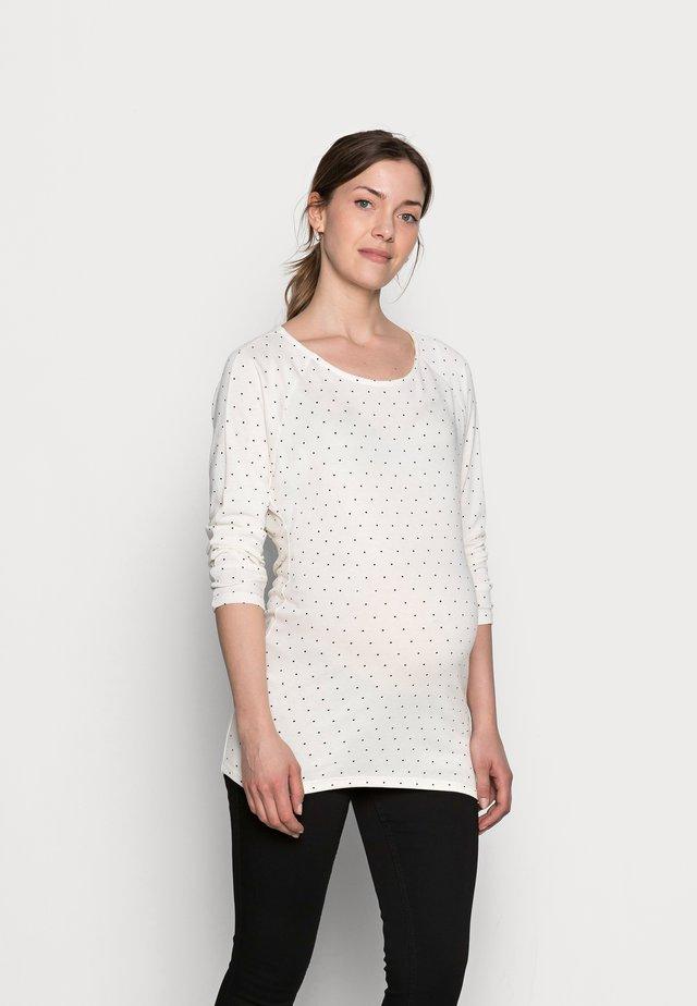 JANE - Jumper - off white/black