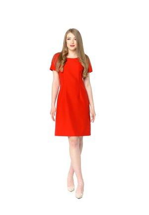 YANA - Day dress - red