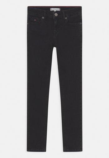 NORA SKINNY - Jeans Skinny Fit - black denim
