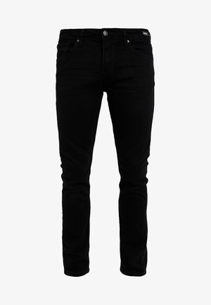 SUPER PIERS  - Vaqueros slim fit - black denim