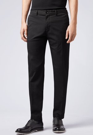 CRIGAN - Chinos - black