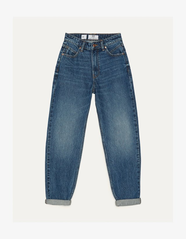 MOM - Jeans a sigaretta - dark blue