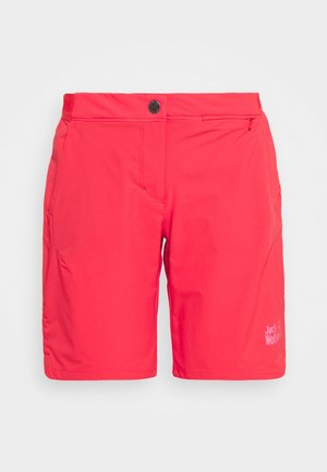 HILLTOP TRAIL SHORTS  - kurze Sporthose - tulip red