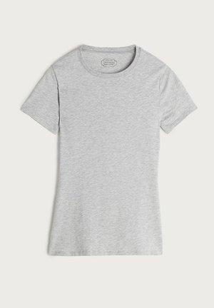 MIT STRETCHANTEIL - Undershirt - grigio melange