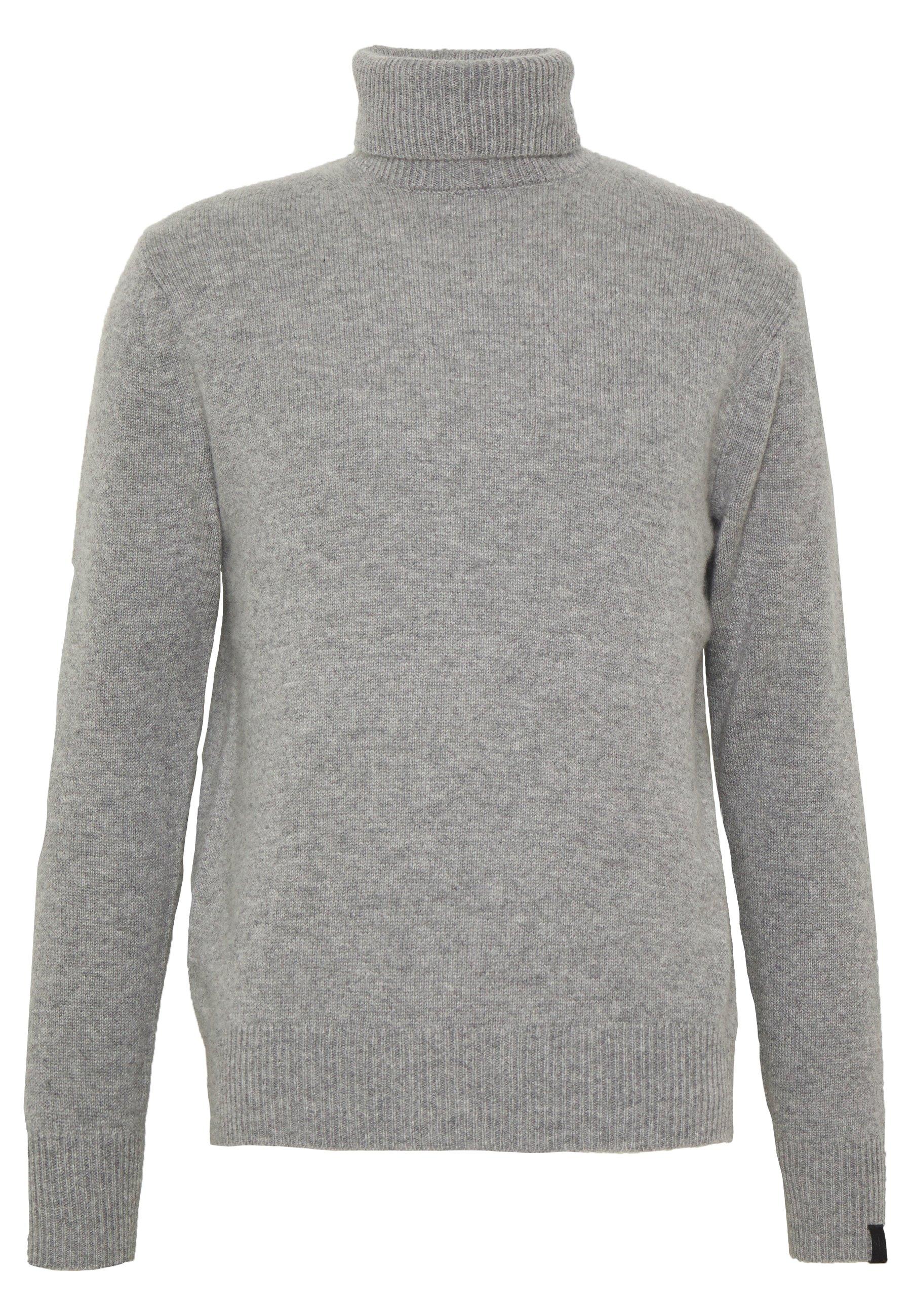 rag & bone HALDON CASHMERE  TURTLENECK - Pullover - mottled grey