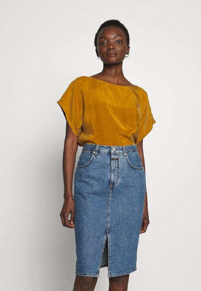 SOMIA - Bluser - mustard