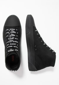 HUGO - HITO - Sneakersy wysokie - black - 1