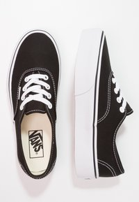 Vans - AUTHENTIC PLATFORM 2.0 - Sneaker low - black - 3