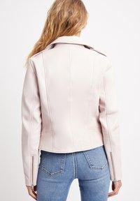Kookai - Leather jacket - pink - 1