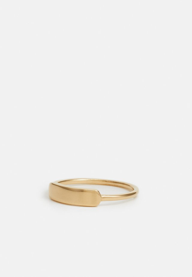 MARQUE UNISEX - Ring - gold-coloured