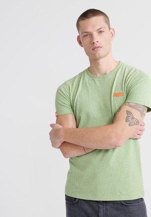 Basic T-shirt - shamrock green grit