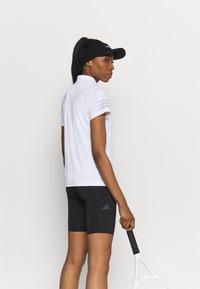 adidas Performance - CLUB TENNIS AEROREADY - T-shirt sportiva - white/grey two - 2