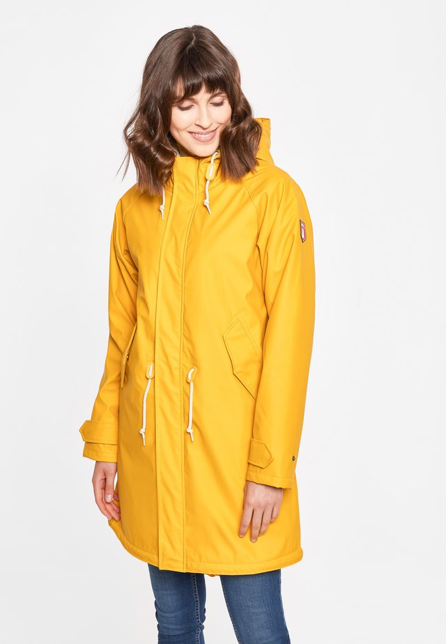 TRAVEL COZY FRIESE RC - Parka - yellow