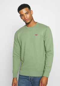 Levi's® - NEW ORIGINAL CREW UNISEX - Felpa - hedge green - 0