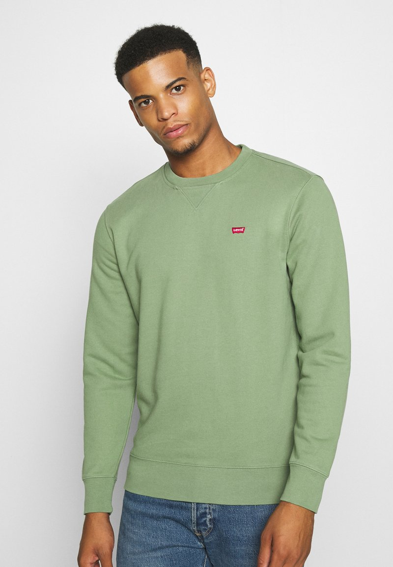 Levi's® - NEW ORIGINAL CREW UNISEX - Felpa - hedge green