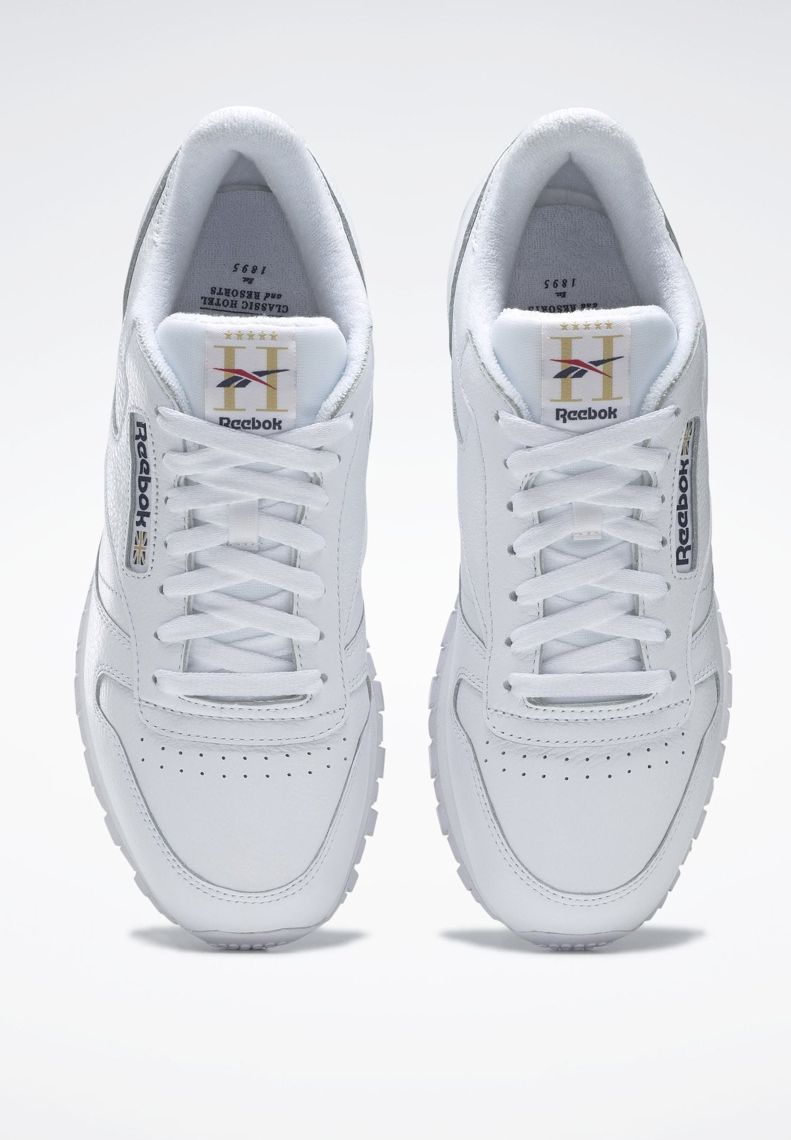 Reebok Classic CLASSIC LEATHER SHOES Joggesko white