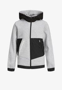 Jack & Jones Junior - Zip-up hoodie - light grey melange - 5