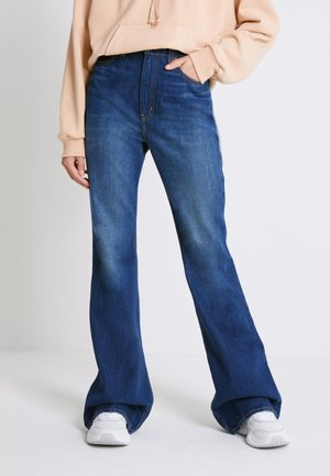 RIBCAGE BOOT - Jean bootcut - high key