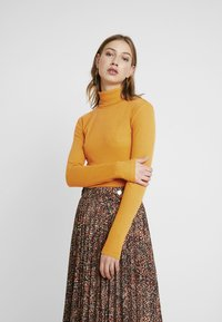 Even&Odd - Long sleeved top - dark yellow - 0