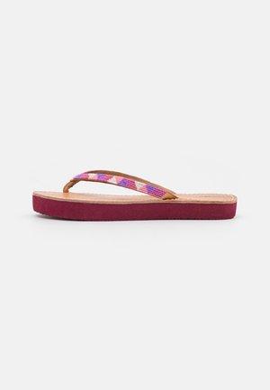 SERI - T-bar sandals - rose mix