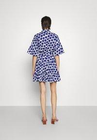 Diane von Furstenberg - BEATA DRESS - Shirt dress - true blue - 2