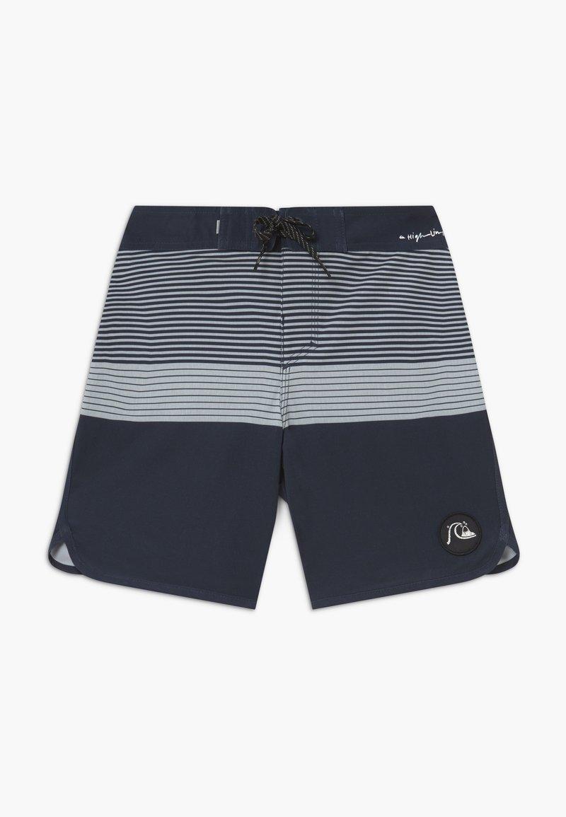 Quiksilver - HIGHLINE TIJUANA YOUTH - Swimming shorts - navy blazer
