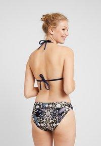 Seafolly - TWIST BAND HIPSTER - Bikini bottoms - black - 2