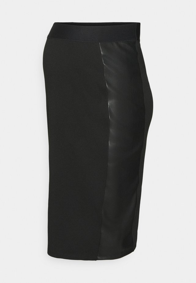 SKIRT OTBCOMBI - Gonna a tubino - black