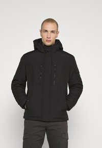 Jack & Jones - JJFERGUS JACKET - Regenjas - black - 0