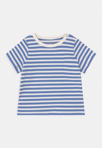 SET UNISEX - Print T-shirt - white/blue
