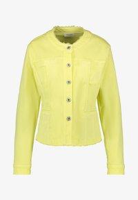Gerry Weber - MIT FRANSENKANTE - Denim jacket - light lime - 3
