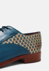 Melvin & Hamilton - TONI 31 - Šněrovací boty - blue/nude - 6