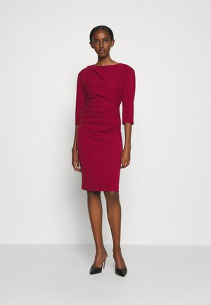 IZZA  - Shift dress - red art