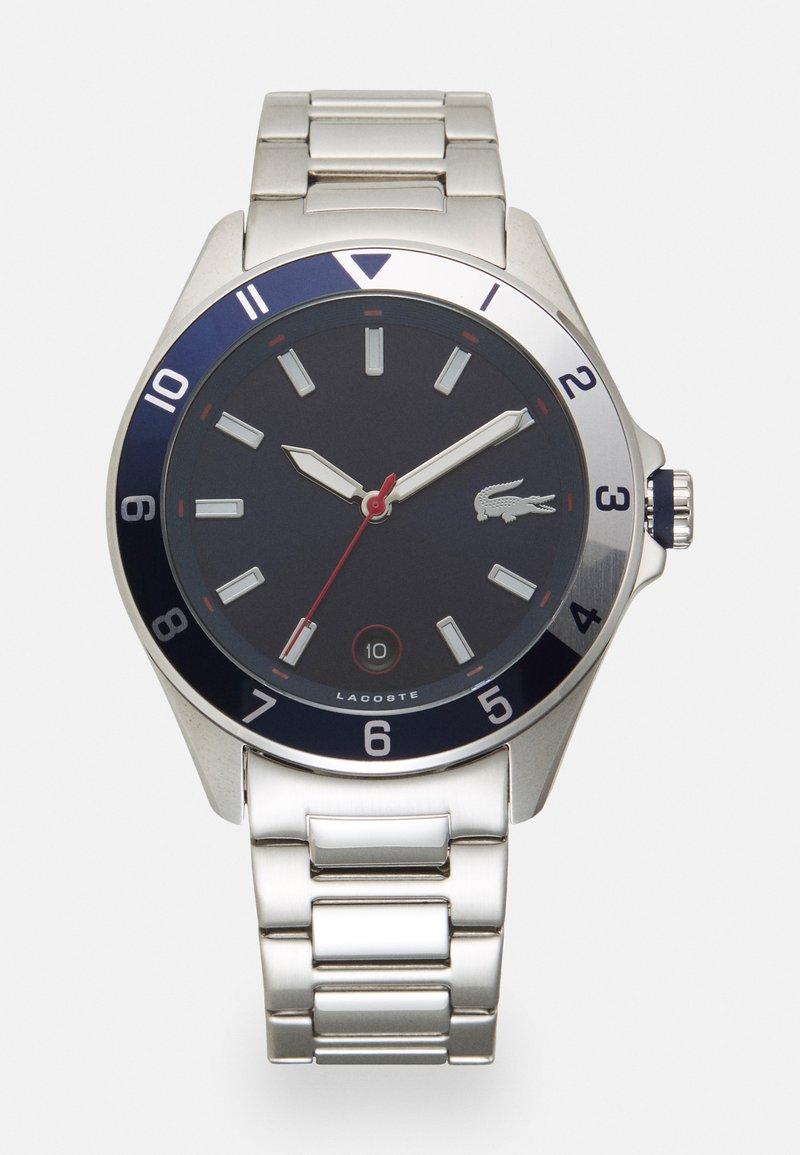 Lacoste - TIEBRAKER - Watch - silver/blue
