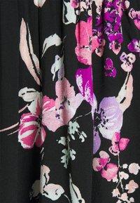 b.young - BYILKA SMOCK DRESS - Day dress - black mix - 2