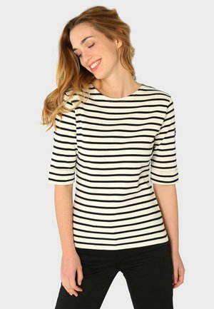 CANCALE - MARINIÈRE - T-SHIRT - Print T-shirt - nature rich navy
