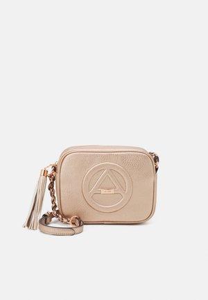 RHERASSI - Across body bag - rose gold-coloured