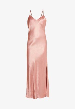 BIANCA SLIP DRESS - Galajurk - luxe pink
