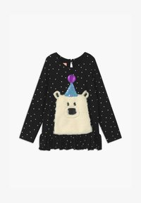 WAUW CAPOW by Bangbang Copenhagen - ELLY BEAR - Long sleeved top - black - 0