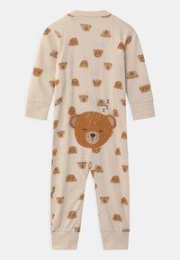 Lindex - TEDDY AT BACK UNISEX - Pyjamas - light beige - 1