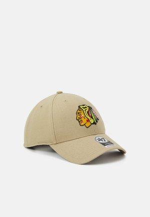 NHL CHICAGO BLACKHAWKS SNAPBACK UNISEX - Lippalakki - khaki
