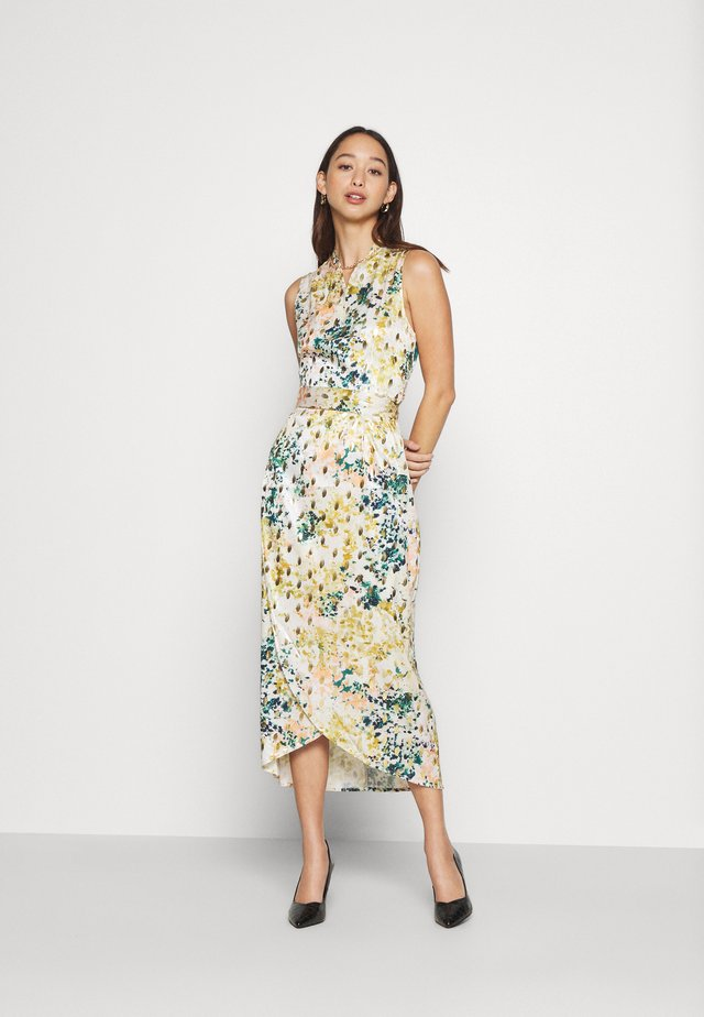 SLEEVELESS ZSA ZSA DRESS - Maxi dress - green multi