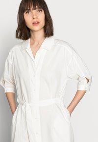 Mos Mosh - ASLAUG SHIRT DRESS - Košilové šaty - offwhite - 3