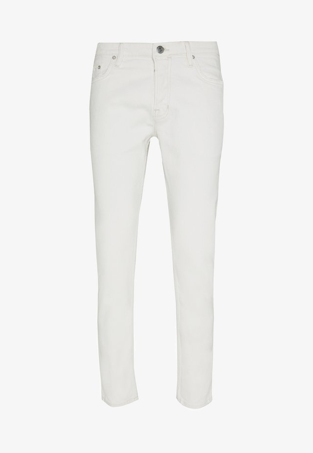 DEAN - Slim fit jeans - white