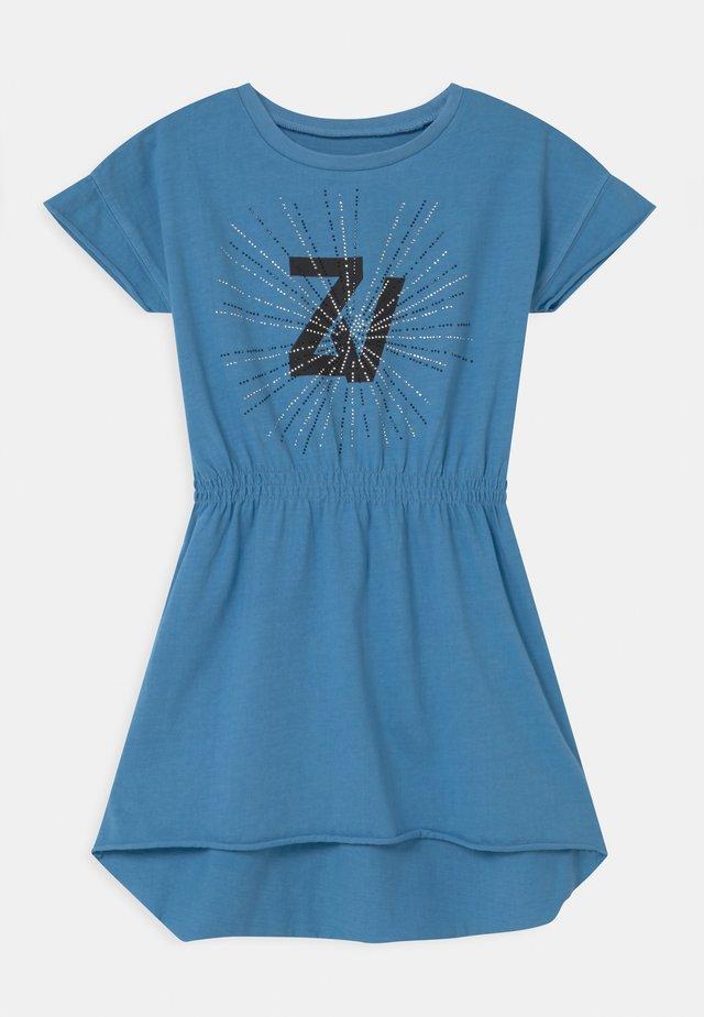 Jerseykleid - bleu marin