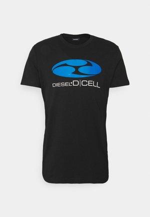 T-DIEGOS-K40 UNISEX - Camiseta estampada - black