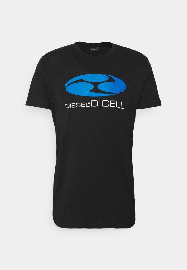 T-DIEGOS-K40 UNISEX - T-shirt print - black